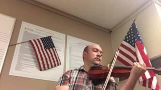 Star-Spangled Banner violin cover