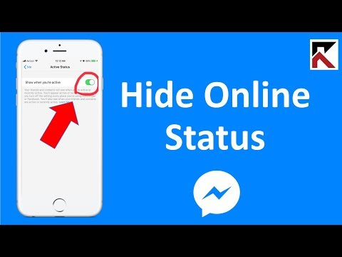 How To Hide Online Status On Facebook Messenger (update in bio)