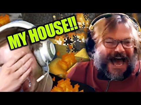 Xxx Mp4 Jack Black BURNED Down My Minecraft House 3gp Sex