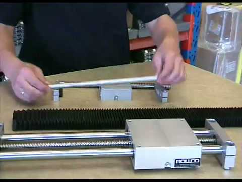 Assembly of Rollco Linear Unit QME