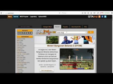Tutorial Cara Memasang Mod GTA San Andreas PC Dengan Mudah ( HD )
