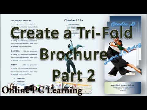 Microsoft Word - Make Brochures with Microsoft Word 2010 -  Part 2