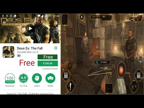 How to download deus ex the fall for free android