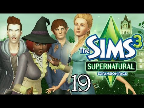 Let's Play The Sims 3 Supernatural - Ep. 19 - Making Witches Brew!