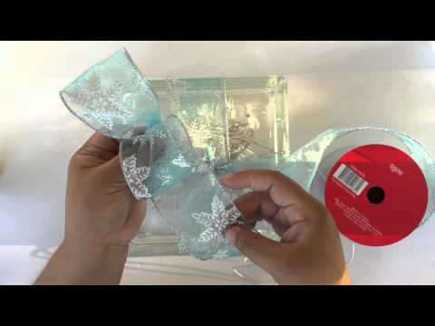 How To Wrap A Lighted Glass Block Christmas Present
