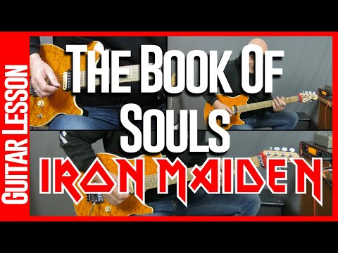 Book Of Souls By Iron Maiden - Guitar Lesson Tutorial