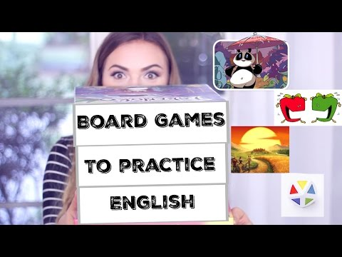 Playing Board Games to Practice English: Current Favorites