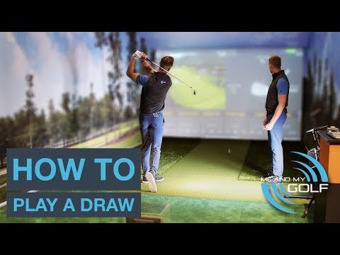 ROTATE YOUR HIPS AND DRAW THE GOLF BALL