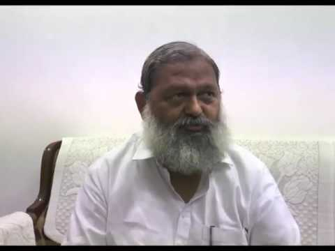 Anil Vij lodges complaint for fake Facebook account