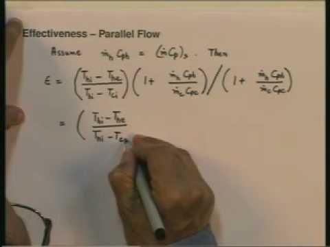 Lecture - 28 Heat Exchangers - 4