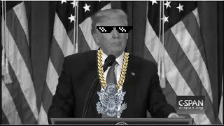 Trump Presidential Thug Life CNN Fake News Version