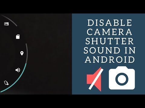 How to turn camera shutter sound on and off in Android