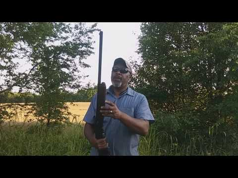 Rapid fire Remington model 1148 12 gauge shotgun