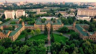 Киев с высоты птичьего полета. НТУУ КПИ.