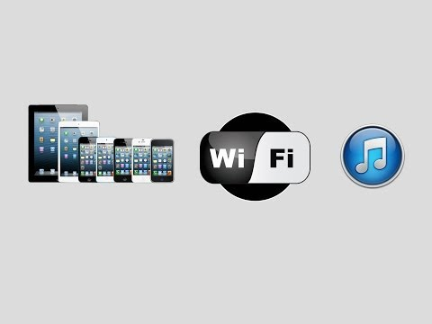 How To Enable WiFi Sync on any idevice