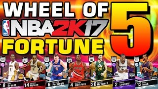 Wheel of NBA 2K Fortune 5 (The Return)