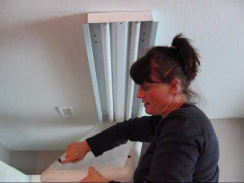How 2 Change a Light Fixture.wmv