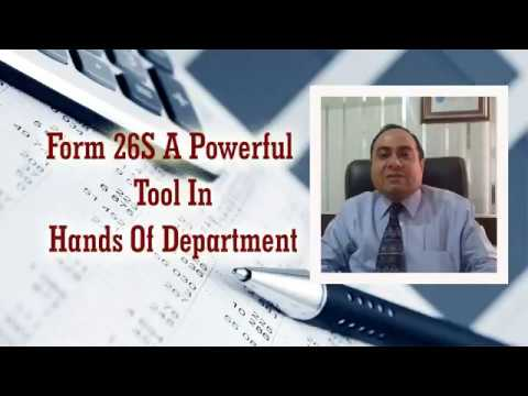 FORM 26 AS- A POWERFUL TOOL