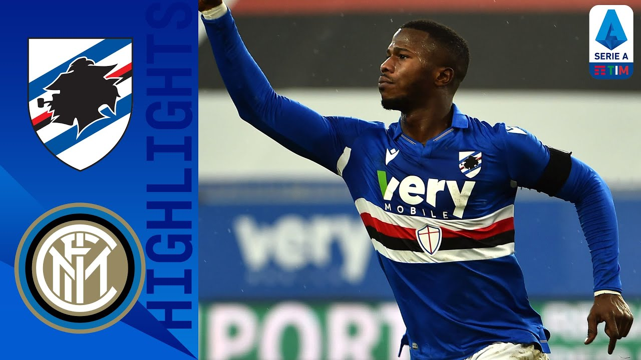 Sampdoria 2-1 Inter | Inter's winning run ended by former players Candreva & Keita | Serie A TIM