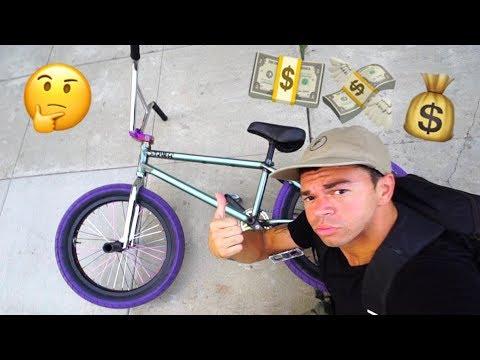 MY NEW BMX BIKE - CHEAPEST CUSTOM BMX BUILD