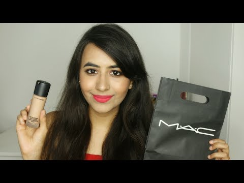 NEW MAC Next to Nothing Foundation Review & Demo
