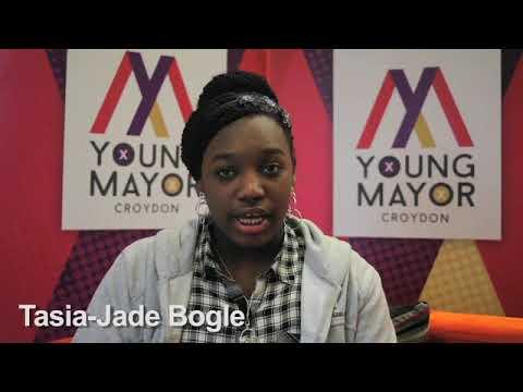 Croydon Young Mayor candidate - Tasia Jade Bogle