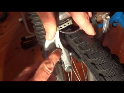How To Replace Brake Pads On Hybrid/Mountain Bike (V Brakes)