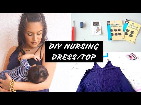 DIY Nursing Dress/Top