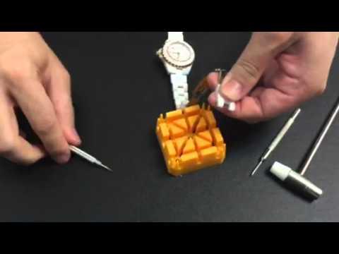 JCC ceramic watch band resizing