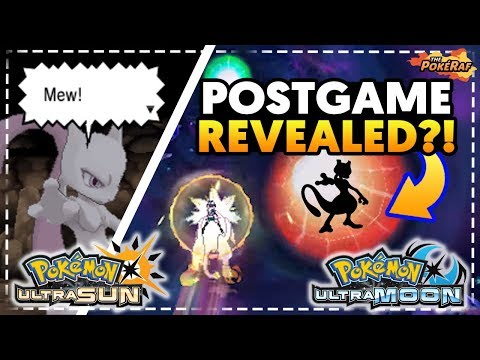 POSTGAME SECRETS AND LEGENDARY POKEMON IN ULTRA WORMHOLES! - Pokémon Ultra Sun and Ultra Moon
