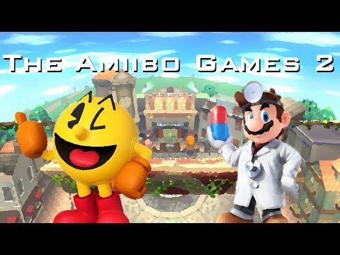 The Amiibo Games 2 - Round 2 Set 1   Grandpa (Pac-Man) vs. BigPillDoc (Dr. Mario)