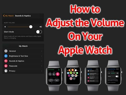 How to Adjust the Volume On Your Apple Watch