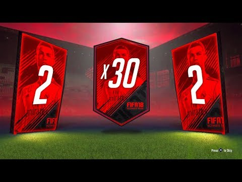 IN-FORM! - 30 x 2 PLAYER UPGRADE PACKS! - FIFA 18 Ultimate Team