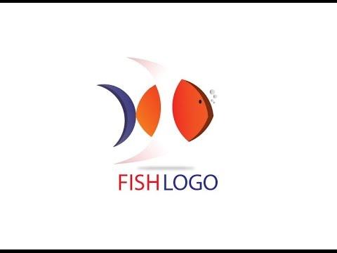 logo design illustrator 2017 - adobe illustrator logo design tutorial how to make fish logo