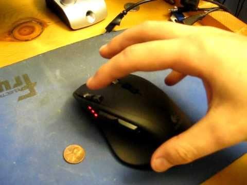 Logitech G700 mouse review