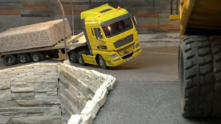 HEAVY RC LOAD! AMAZING  RC CARRARA WORLD! FANTASTIC RC MACHINES AT WORK!