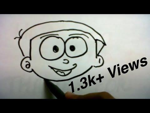 How To Draw NOBITA ( Doraemon )