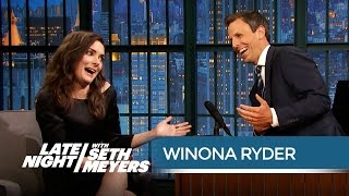 Download Winona Ryder: The Beetlejuice Sequel Is Happening! - Late Night with Seth Meyers Video