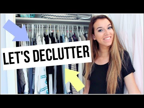 HUGE CLOSET DECLUTTER: Clean My Closet With Me!