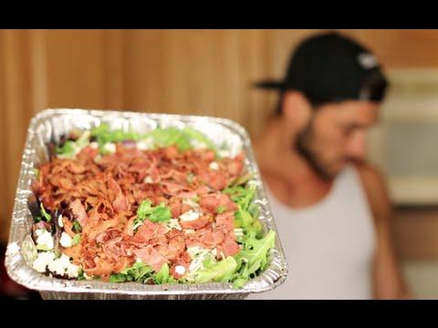 Healthy Recipes | Organic Turkey Bacon & Greens