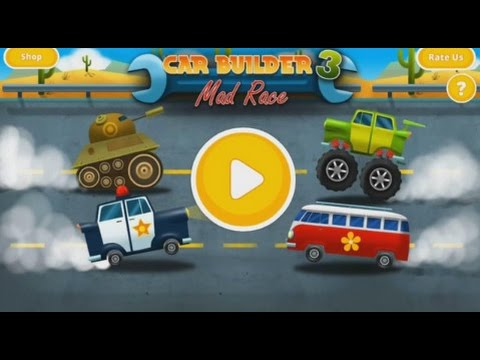 Car Builder 3 Mad Rush - Car Games For Children To Play Now -  Android Apps on Google Play