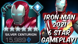 6 Star Silver Centurion First Look Gameplay! - New 2021 Iron Man - Marvel Contest of Champions