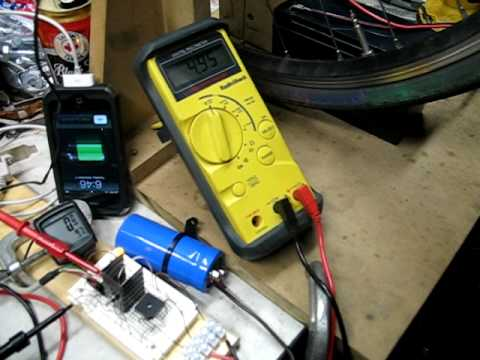 4 - output voltage from battery