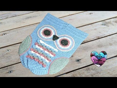 Cocoon hiboux crochet 1/2 / Cocoon owl crochet 1/2 (english subtitles)