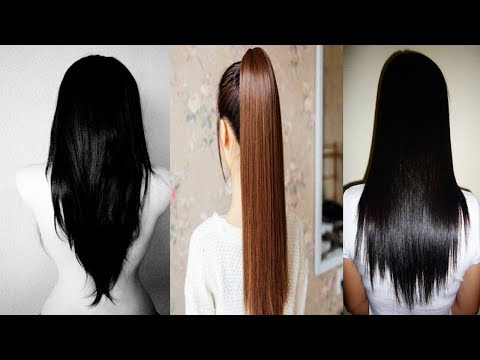 How To Get Straighten Hair Without Heat - Straight Hair Naturally at Home