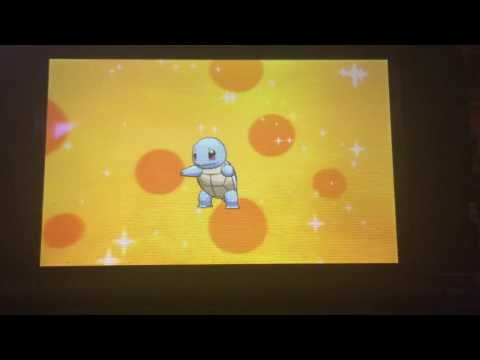 [Live] Shiny Squirtle hatched after 117 eggs on Pokemon Alpha Sapphire