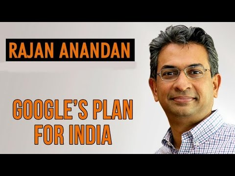 Google's Mantra For Startup India with Rajan Anandan