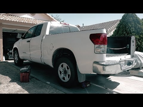 How To change your 2008 Toyota Tundra's Wheel Studs