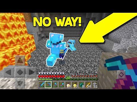 RAIDING A HACKER'S BASE in Minecraft Pocket Edition! (MCPE FACTIONS)