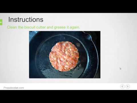 Paleo Sausage Egg Muffins Recipe